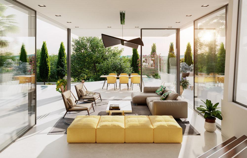 Can Furnet Villa Architectural Visualisation-006