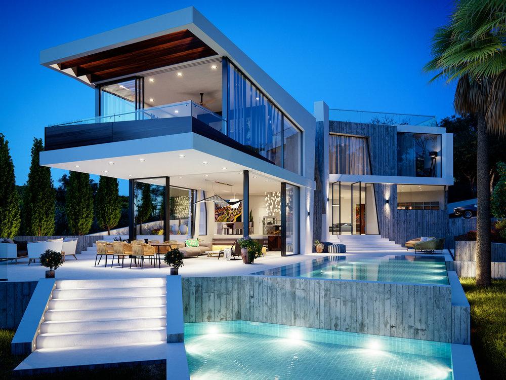 Can Furnet Villa Architectural Visualisation-017