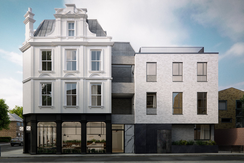 Grange Road London Architectural Visualisation-001
