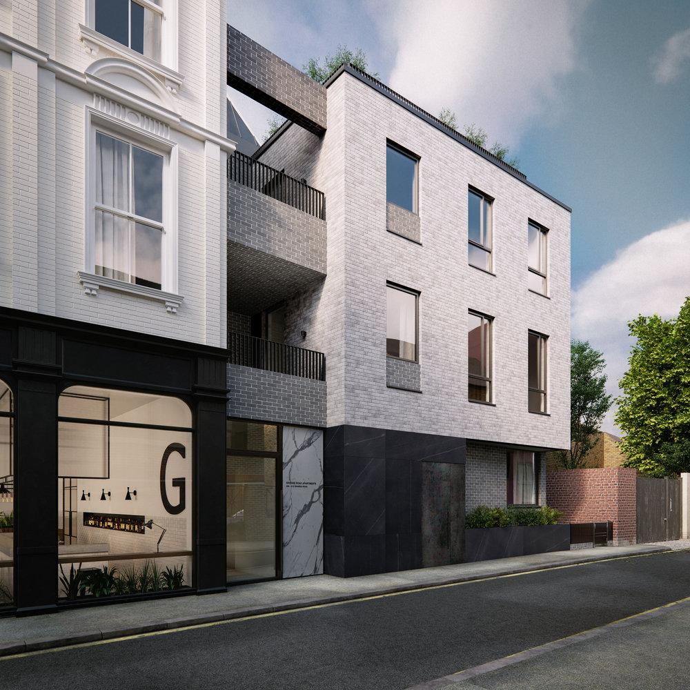 Grange Road London Architectural Visualisation-009