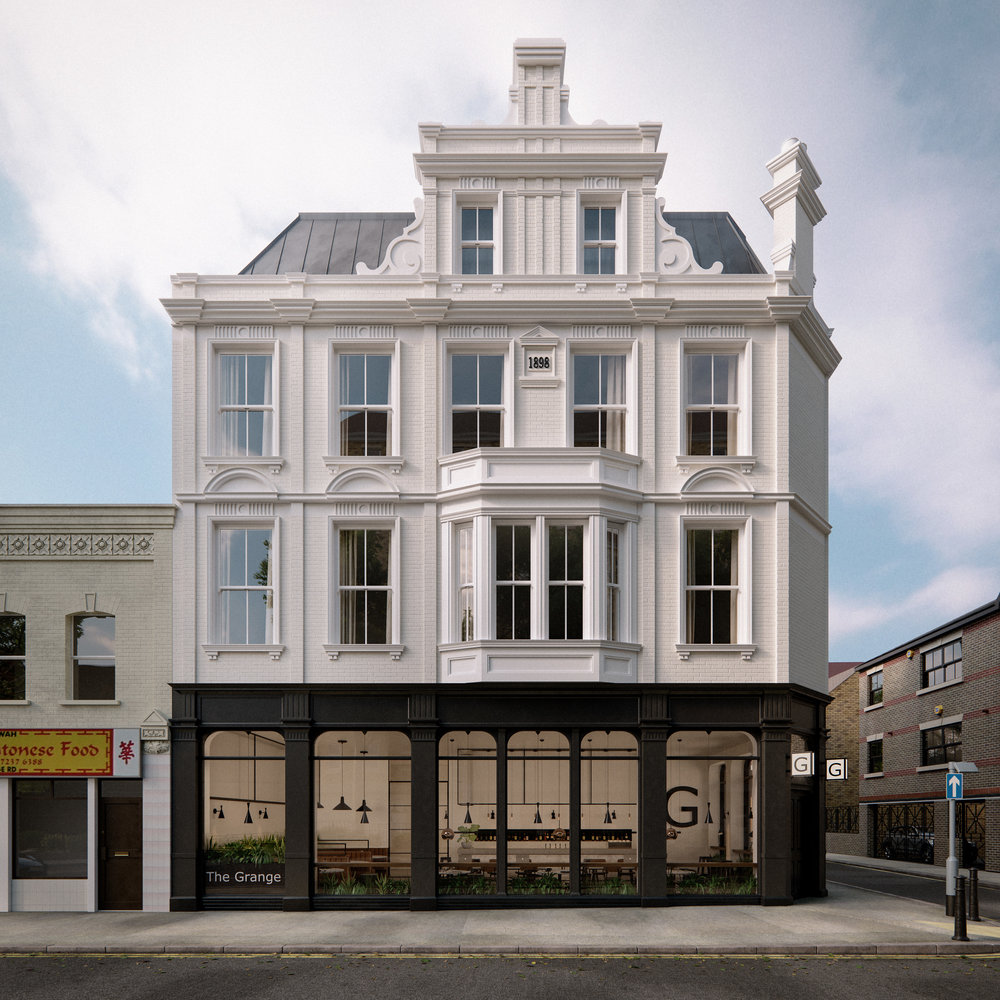Grange Road London Architectural Visualisation-012