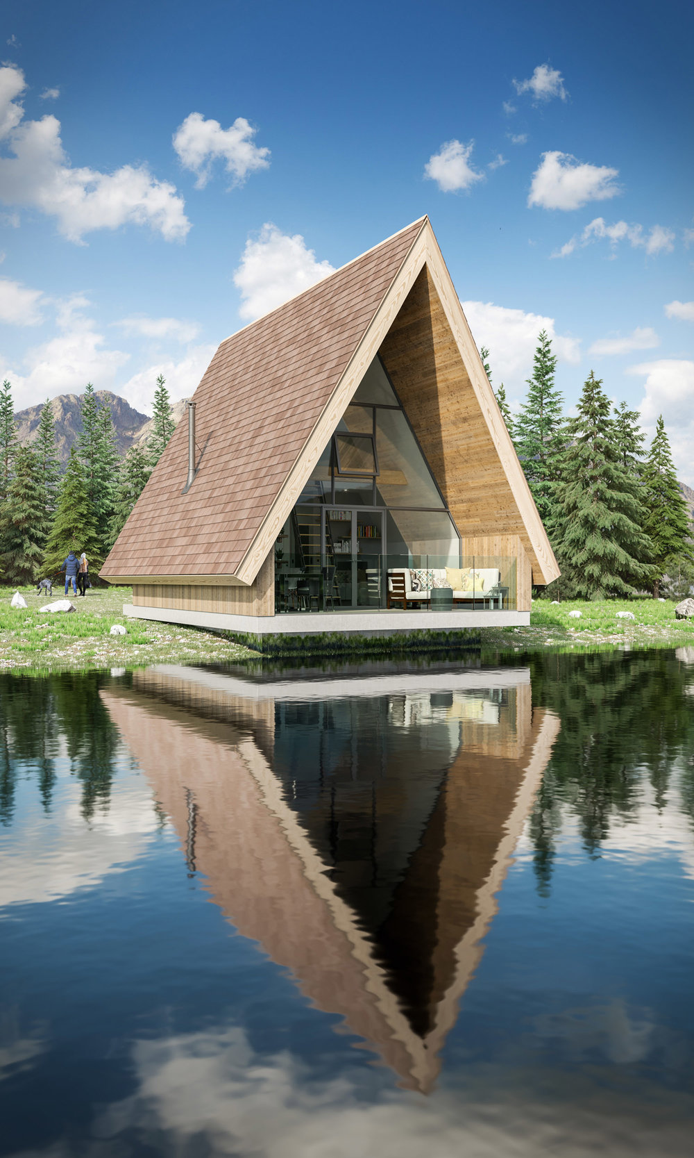 The Retreat Architectural Visualisation-003