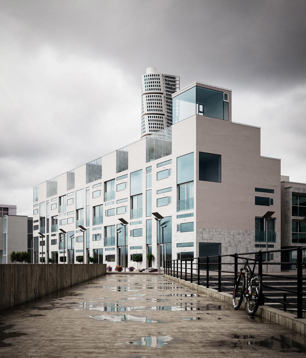 Sundspromenaden Architectural Visualisation-001