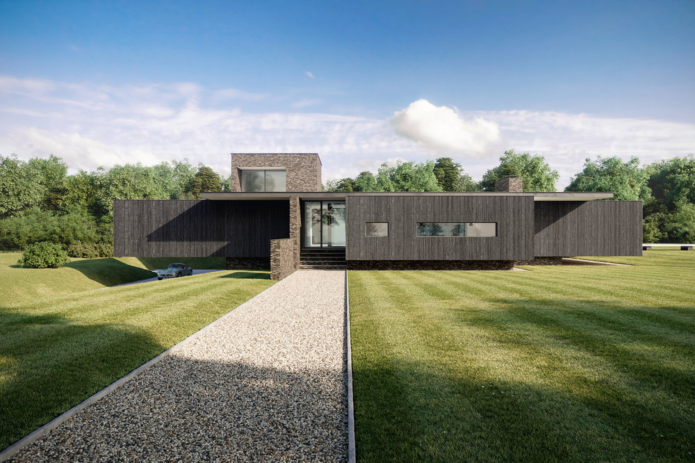 Black House - Architectural Visualisation - 001