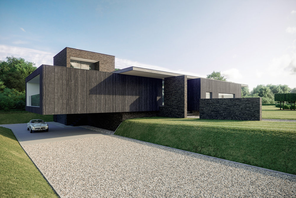 Black House - Architectural Visualisation - 002