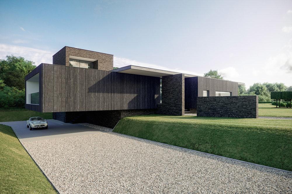 Black House - Architectural Visualisation - 002