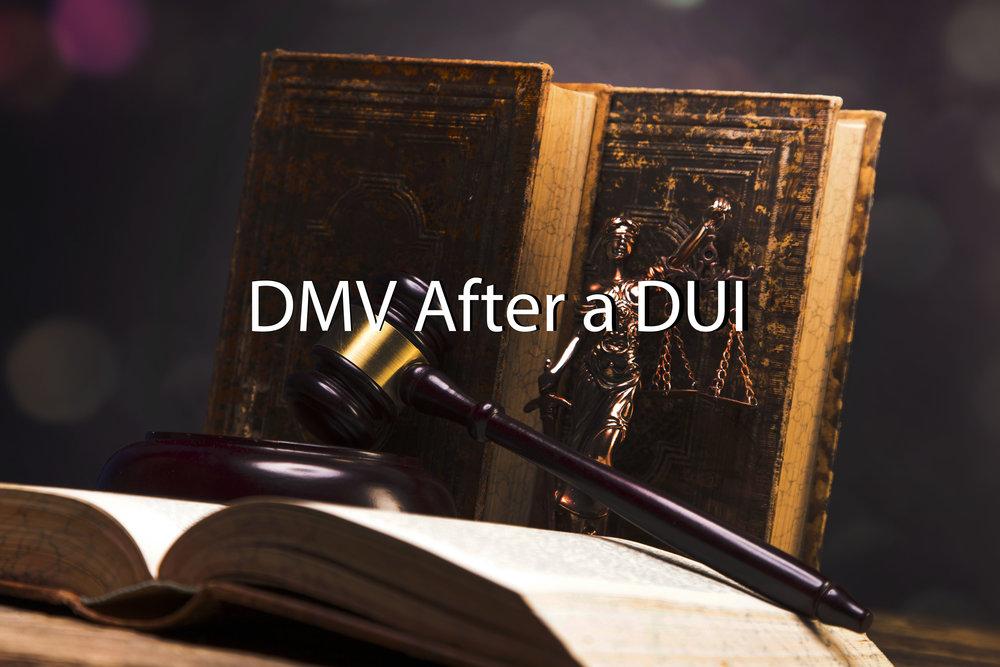 DMV After a DUI