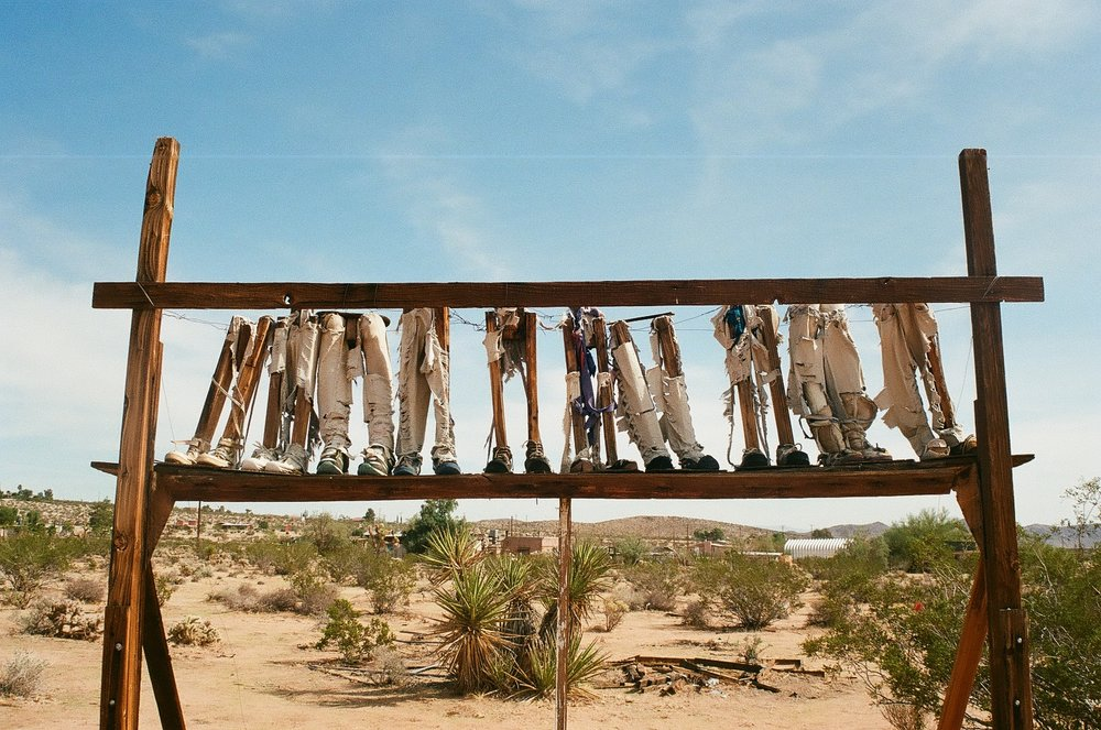 NOAH PURIFOY FOUNDATION - desert art museum