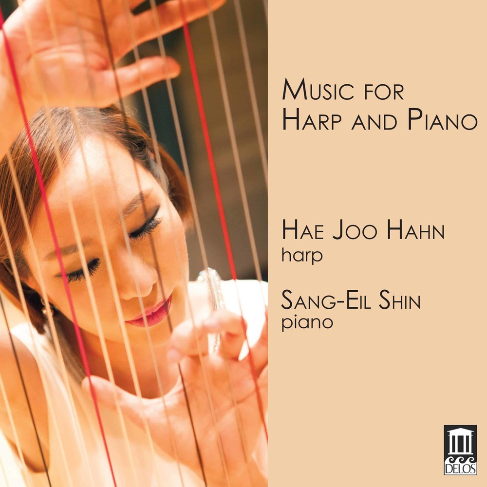 Music for Harp & Piano  - Release Date: January 12, 2018Label: Delos Label