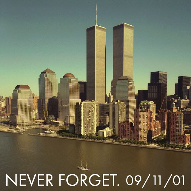 We will never forget. 🇺🇸 #alwaysremember