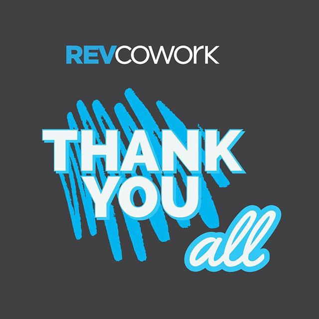 To our entire #RevCo fam, #ThankYou for the support over the last year. You've taught us so much and we've been working diligently on our new location to apply all those lessons learned. We can't wait to fill you in soon! . Enjoy your #Thanksgiving! #RevCowork #LetsGetToWork
