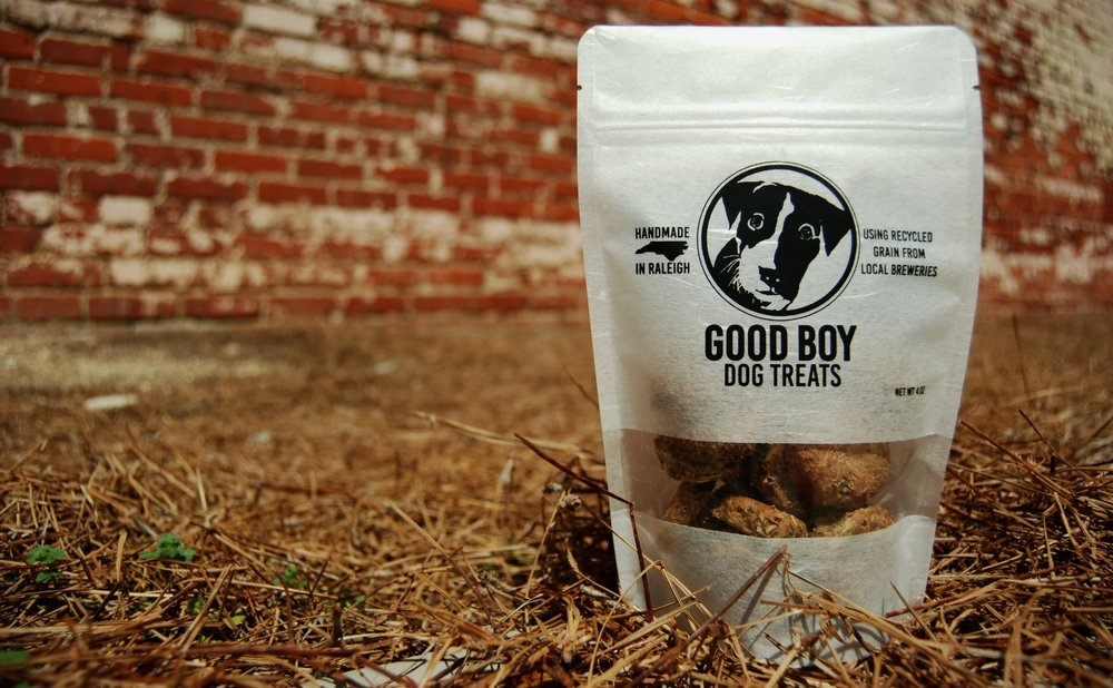 Good Boy Dog Treats Downtown Raleigh