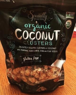 Aldi organic coconut clusters