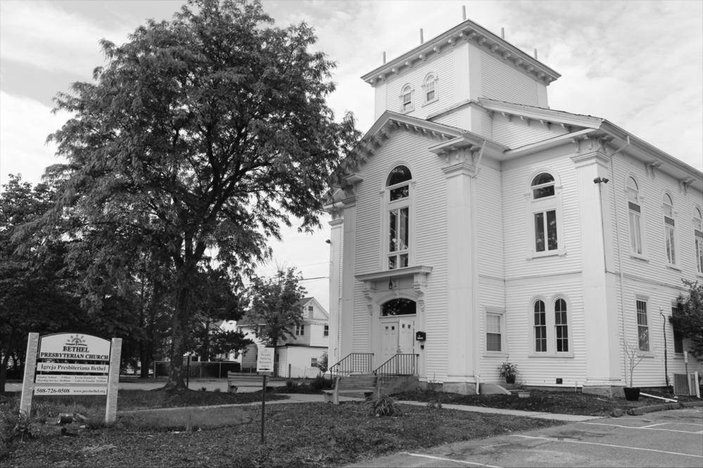 Bethel Presbyterian Church em 86 Pleasant St., Marlborough, MA, 01752.