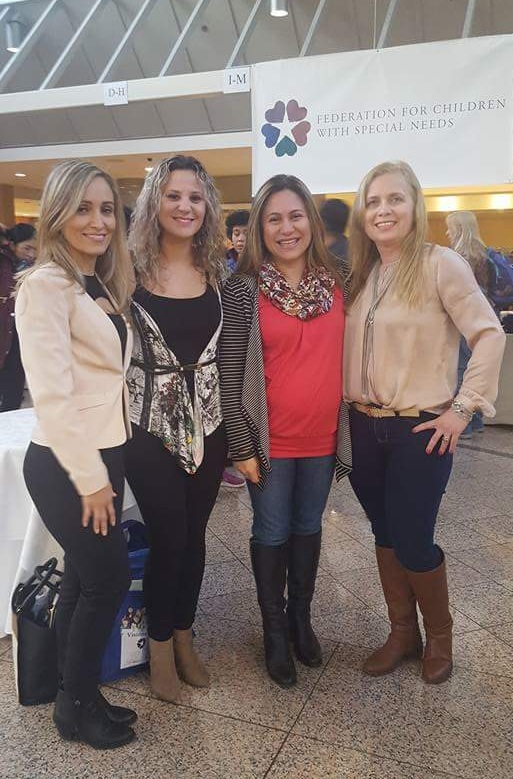 Português Plus teachers at the 2016 Conference of the Federation for Children with Special Needs.