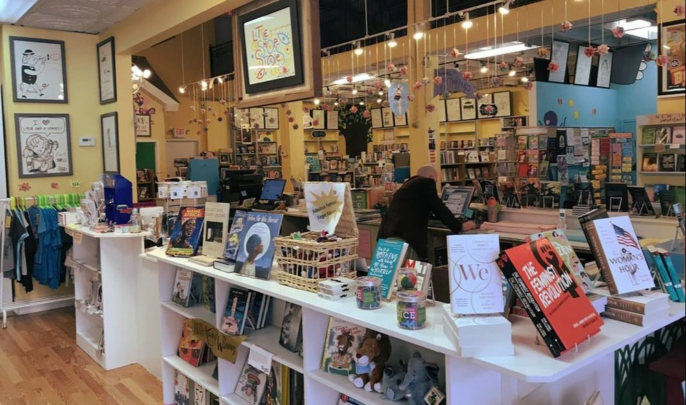 Local independent bookstores  - help foster a sense of community, and that's what drew me to Little Shop of Stories in Decatur, Georgia.