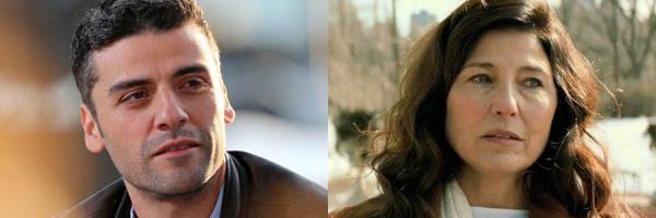 Oscar Isaac & Catherine Keener
