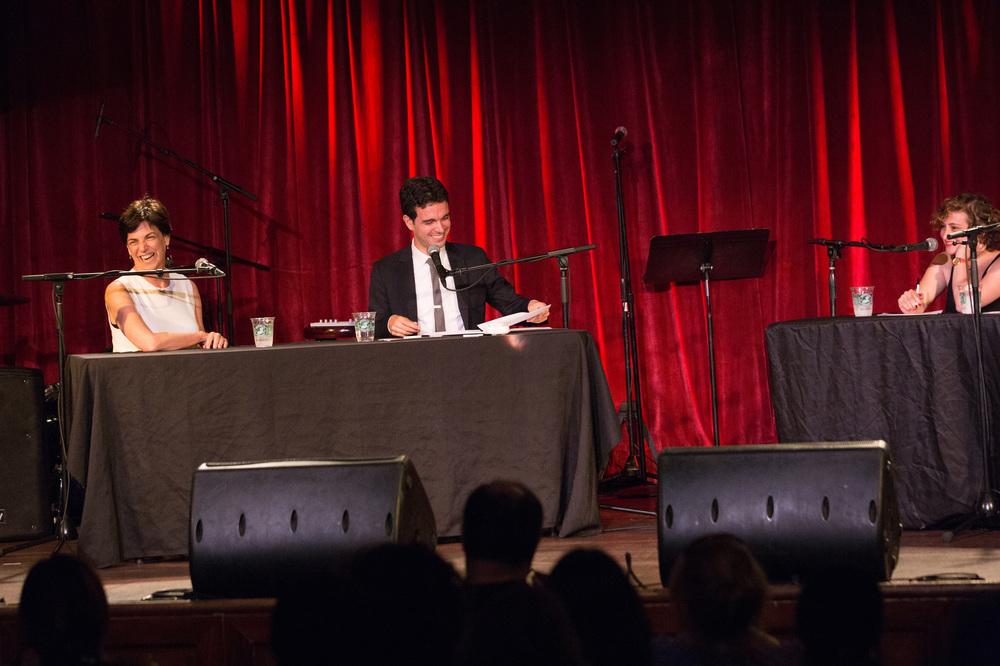 Dr. Jo Shapiro (expert) and Host Chris Duffy Photo by David Andrako