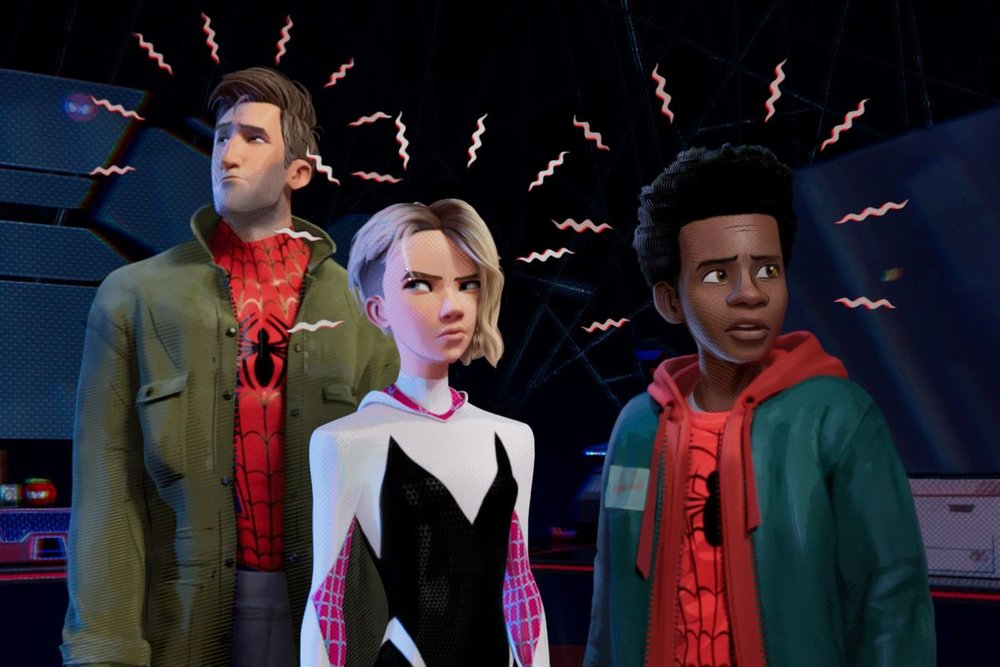 The way the animation depicts Spider-Sense is pretty cool, too.