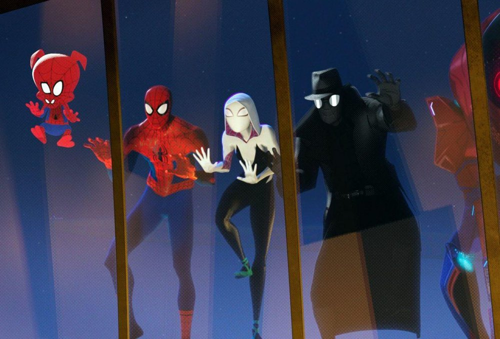 Look at all those good Spider-Folks!