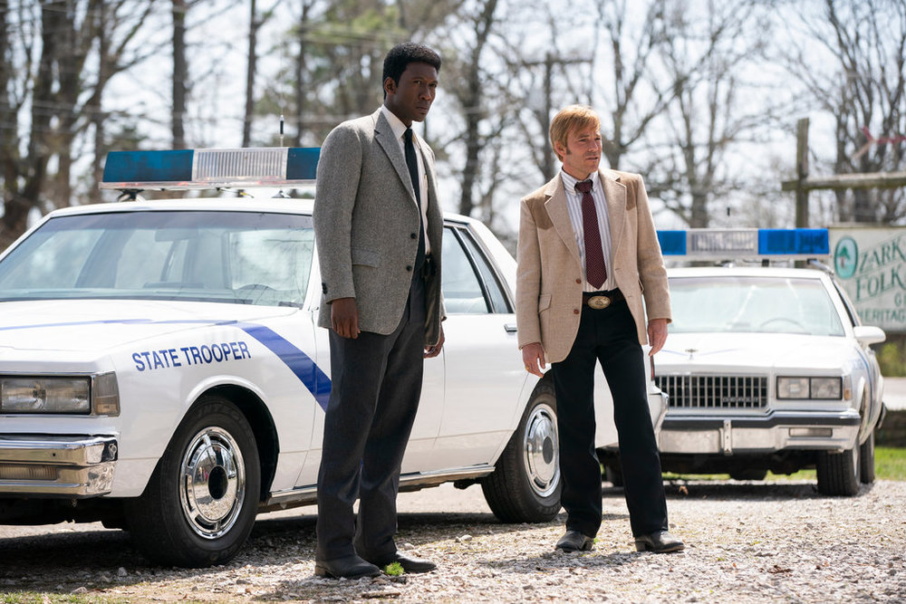 Mahershala Ali and Stephen Dorff in HBO's True Detective, Season 3 Photo: Warrick Page / HBO