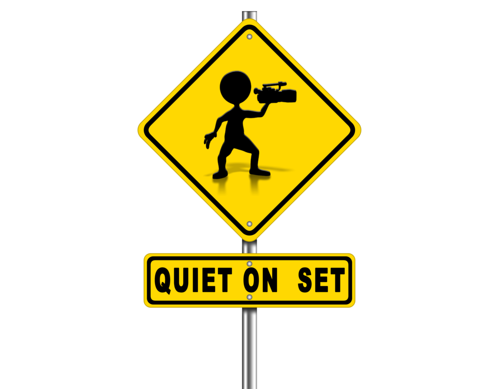 Quiet on Set Sign for Monthly Spotlight Blog 15AUG2015