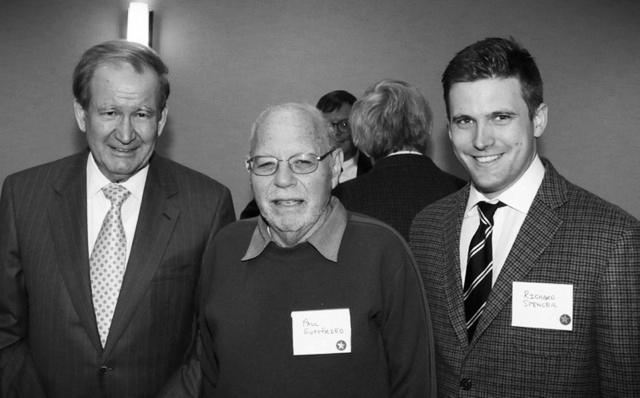 Buchanan, Gottfried and Spencer at the H.L. Mencken Club