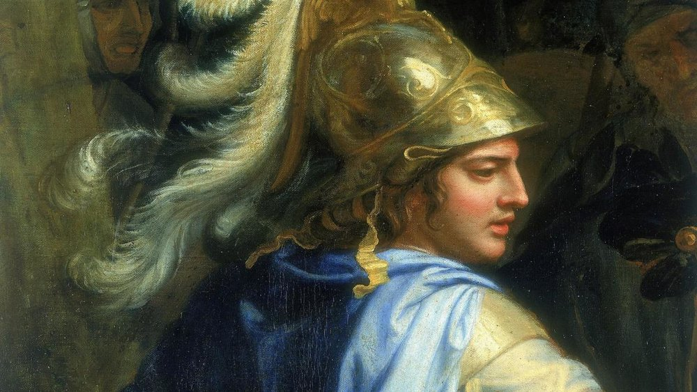 """Alexander and Porus"" by Charles Le Brun"