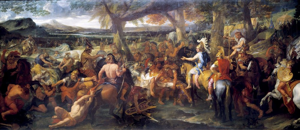 Alexander and Porus, Charles Le Brun