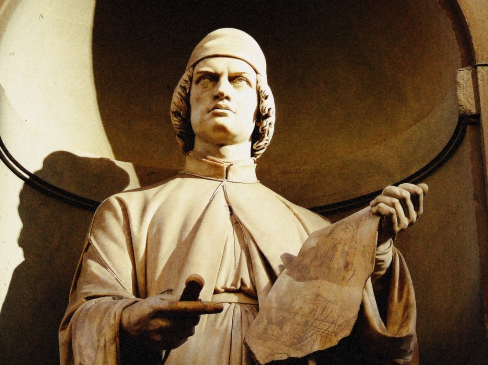 Leone Battista Alberti, Uffizi Gallery
