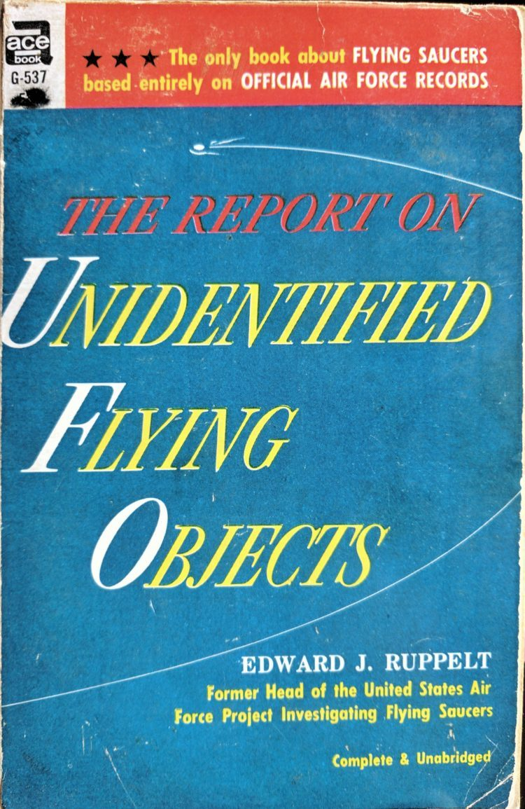 The Report on Flying Saucers—Edward Ruppelt