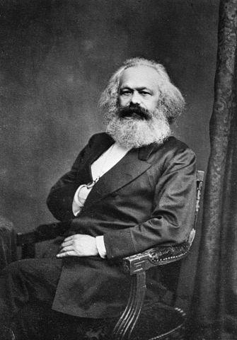 Karl, the original  Flying Spaghetti Marxist