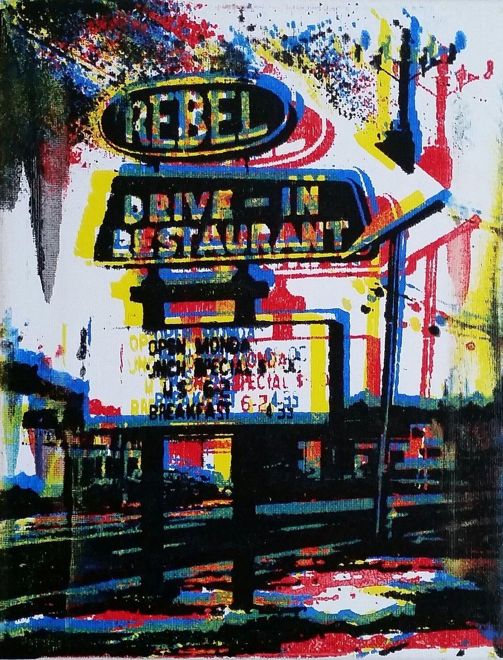 Rebel Drive-In Restaurant (2018)