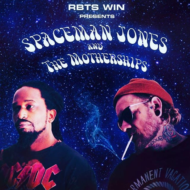 Saturday! 3/3!!! Vol. 2 album release party for @spacemanjonesandthemotherships  at @ellingtonunderground Stacked line up includes @djaudioamg @FLLS and @xero.god !!!! Listen to some tunes here :) http://bit.ly/2FEXMkc #underground #hiphop #spacemanjones #motherships #ellingtonunderground #asheville  #downtown