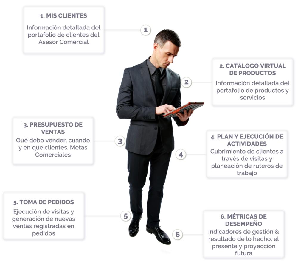 VisualSale CRM para la Venta Empresarial Transaccional