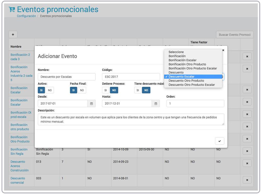 Pedidos Eventos Promocionales VisualSale CRM.jpg