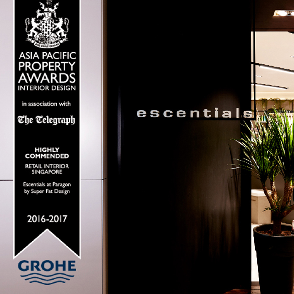 ASIA PACIFIC PROPERTY AWARDS 2016 - 2017 - Escentials at Paragon. Highly Commended