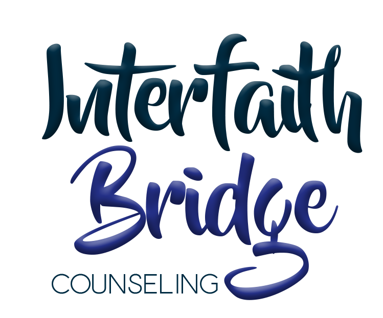 "[Image] This image is of Interfaith Bridge Counseling's text logo. There are three words which are stacked on top of one another. The first word is in dark blue and reads ""Interfaith."" The second word is in dark purple and reads ""Interfaith."" And the final work is in dark blue and reads ""Counseling."" Interfaith Bridge Counseling offers tween therapy, teen therapy, and young adult therapy via low-cost individual counseling and low-cost group therapy in Denver, CO."