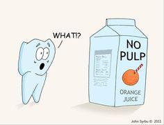 No Pulp?!