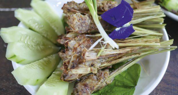 Laos Lemongrass Kebabs