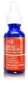kim baker beauty skin care routine blogger seoul ceauticals day glow brightening serum vitamin c