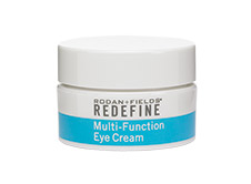 kim baker beauty skin care routine blogger rodan and fields redefine multi-function eye cream