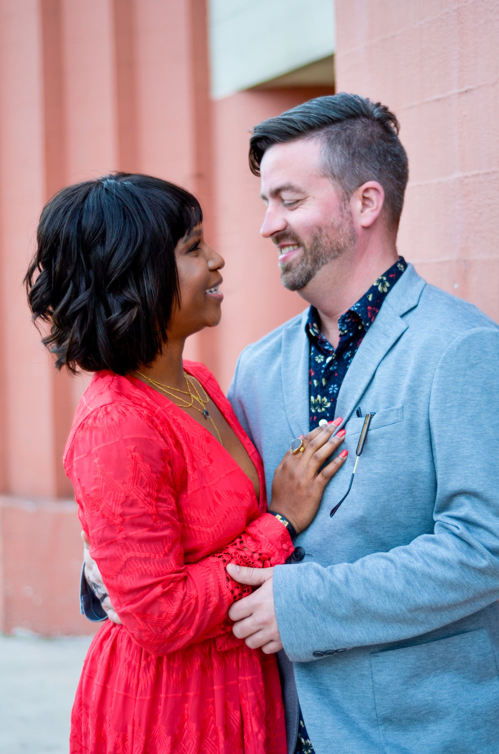 interracial couple lifestyle photoshoot in santa cruz with photographer brittany gorman of seventh skin makeup by kim baker beauty san jose california makeup artist
