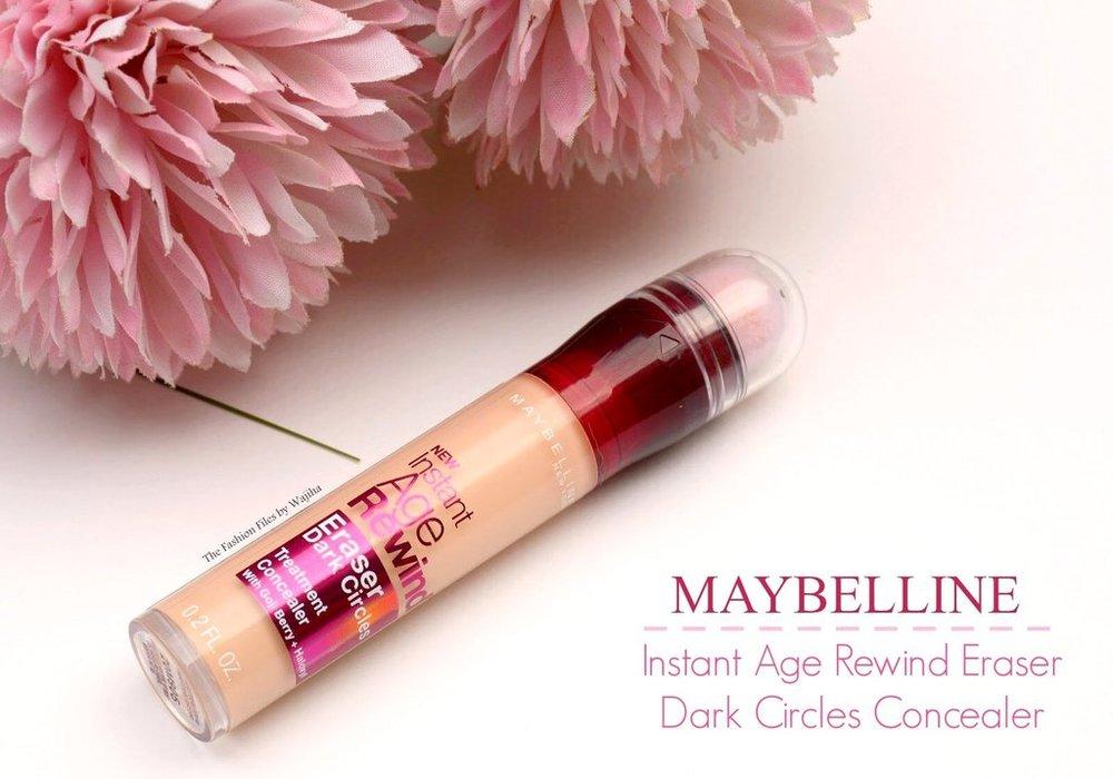 kim baker beauty san jose california makeup artist product spotlight maybelline instant age rewind dark circle concealer