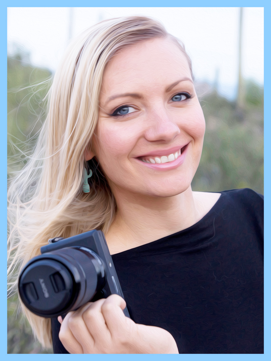 Hi! - My name is Arielle and I am crazy passionate for wedding videography! I have been capturing amazing moments on film for over 4 years and I never stop seeking knowledge to push myself both creatively and professionally.When I'm not filming and editing, I'm helping my husband paint murals across Southern Arizona. In our free time you'll likely catch us hiking, cycling, traveling, and spoiling our pets rotten.I can't wait to get to know you a little more!