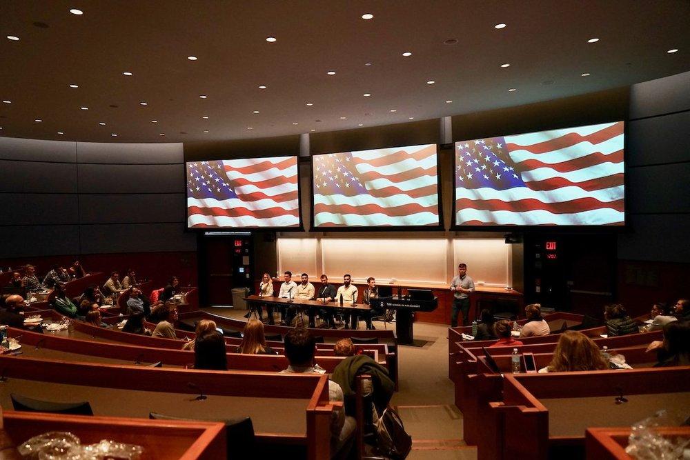 Veterans Day Panel @ SOM. November 9th, 2017