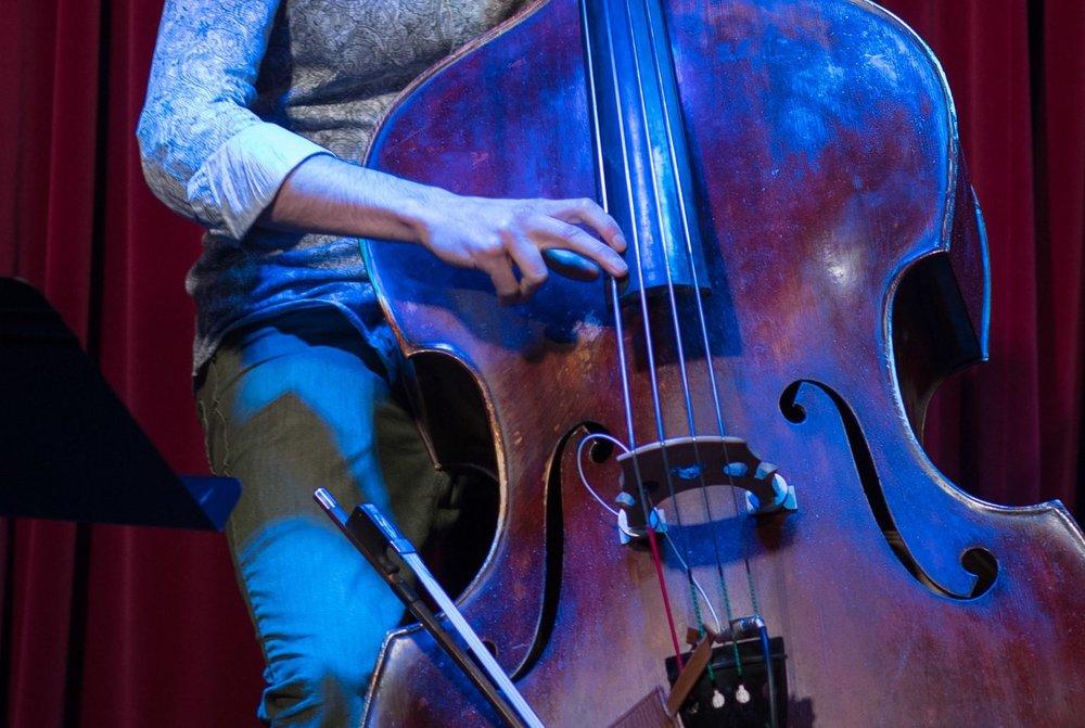 olivier hébert - arranger and multi-instrumentalist (bassist, trombonist), olivier hébert has a bachelor of jazz interpretation from Université de Montréal (bourse couleur jazz, may 2008). the following year he obtained a Diplôme d'Études Supérieures Spécialisées (D.E.S.S. Université de Montréal) in orchestral reportoire.as an arranger, olivier has orchestrated for misteur valaire and the metropolitan orchestra, patrick watson, koriass, dramatik, Jérôme Dupuis-Cloutier and Fanny Bloom.as an instrumentalist, he performs with artists such as Klô Pelgag, Sarah Toussaint-Léveillé, Jacques Kuba-Séguin, Brigitte Boisjoli, Kleztory, l'Orchestre de l'Université de Montréal, Grüvn Brass, Papagroove, l'Orchestre de l'Agora.