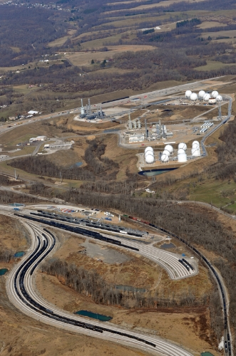 Early in the 21st century, scores of cryogenic plants have been developed in eastern Ohio, northern West Virginia and western Pennsylvania to process gas liquids like propane, butane and ethane from the Utica Shale and Marcellus Shale with much of it targeted for export.