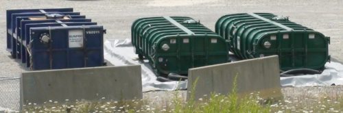 MORE CONTAINERS - Ra226 and Ra228 are most commonly associated with shale waste radioactivity.