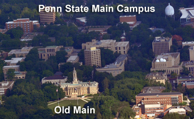 Dr. Nichols taught in the Buckhout Lab building on the Main Campus of Penn State.